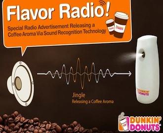 dunkin flavor radio