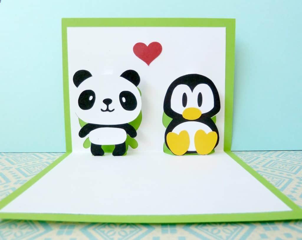 Wikimotive Panda Penguin